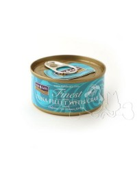 Fish4Cats filetti di tonno con granchio umido gatto 70g