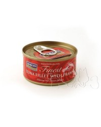 Fish4Cats filetti di tonno con gamberi umido gatto 70g