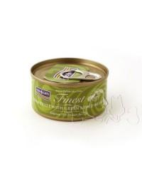 Fish4Cats filetti di tonno con cozze verdi umido gatto 70g