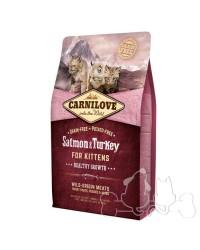 Carnilove gatto Salmone e Tacchino Kitten