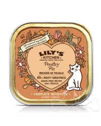 Lily's Kitchen umido gatto Poultry Pie 85g