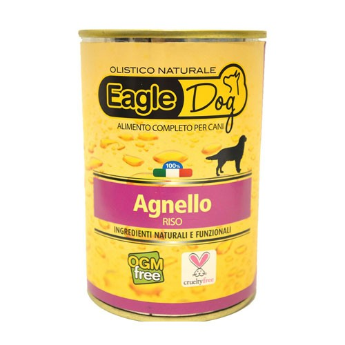 Eagle Dog Umido Cane Agnello e Riso