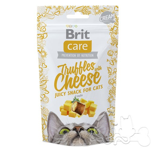 Brit Care Snack Gatto Truffles with Cheese