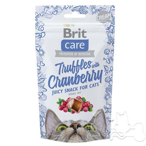 Brit Care Snack Gatto Truffles with Cranberry