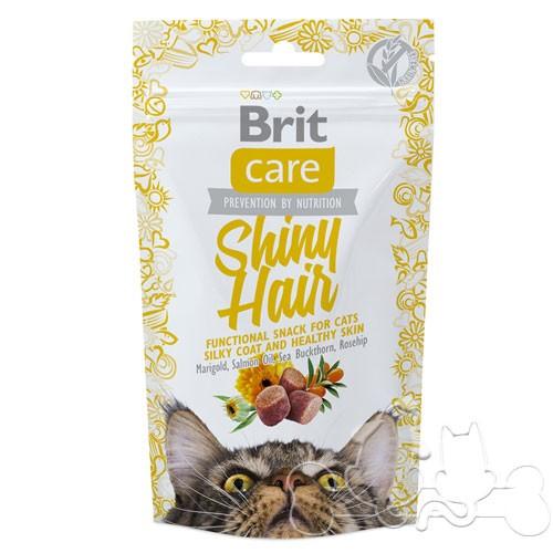 Brit Care Snack Gatto Shiny Hair