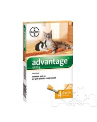 Advantage Spot On fino a 4 kg Antiparassitario per Gatti