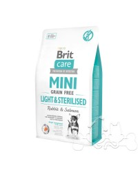 Brit Care Mini Cane Light Sterilised Coniglio e Salmone