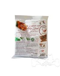 Officinalis Spaghetti Pollo, Speck e Curcuma Snack per Cani