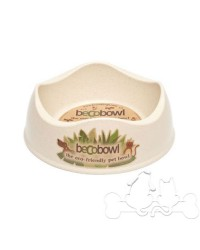 Beco Bowl Ciotola Eco-Compatibile per Cane colore Naturale