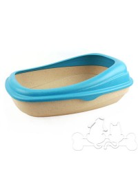 Beco Tray Lettiera Eco-Compatibile per Gatto Blu