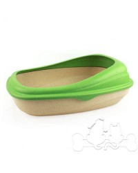 Beco Tray Lettiera Eco-Compatibile per Gatto Verde