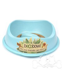 Beco Bowl Ciotola SlowFeed Eco-Compatibile per Cane Blu