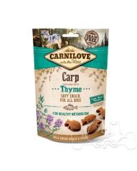 Carnilove Carpa e Timo Snack Semiumido per Cani