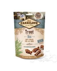 Carnilove Trota e Aneto Snack Semiumido per Cani