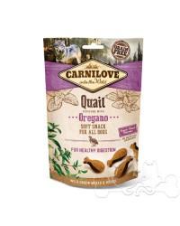 Carnilove Quaglia e Origano Snack Semiumido per Cani