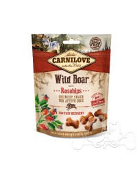 Carnilove Cinghiale e Rosa Canina Snack Croccante per Cani