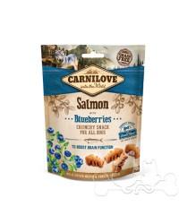 Carnilove Salmone e Mirtilli Neri Snack Croccante per Cani