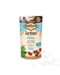 Carnilove Sardine e Prezzemolo Snack Semiumido per Gatti