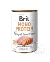 Brit Umido Cane Monoproteico Tacchino e Patate Dolci