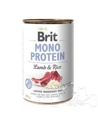 Brit Umido Cane Monoproteico Agnello e Riso