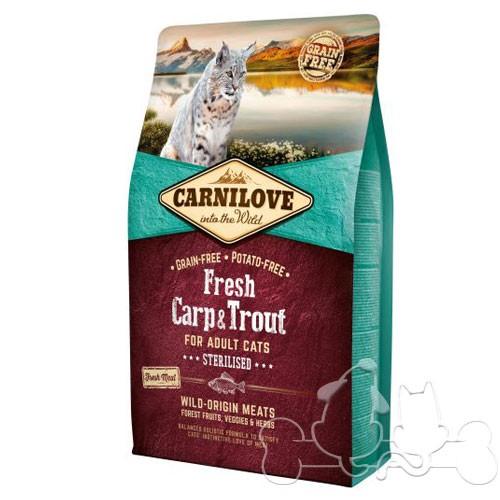Carnilove Gatto Fresh Carpa e Trota Sterilizzato