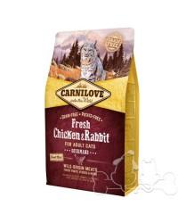Carnilove Gatto Fresh Pollo e Coniglio Gourmand
