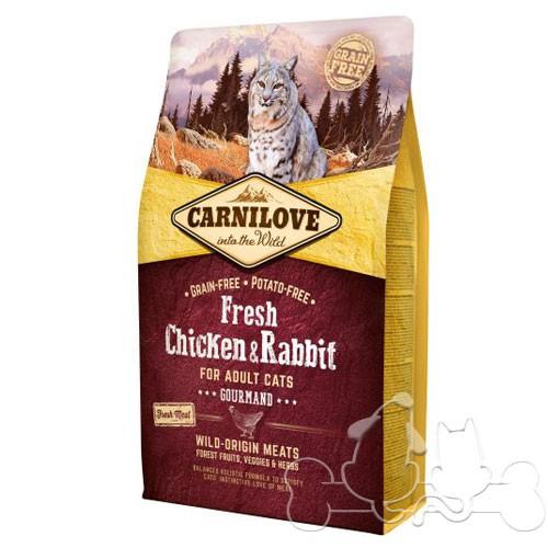 Carnilove Gatto Fresh Pollo e Coniglio