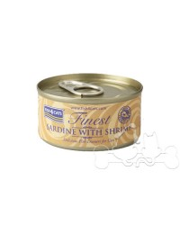 Fish4Cats filetti di Sardine con Gamberetti umido gatto