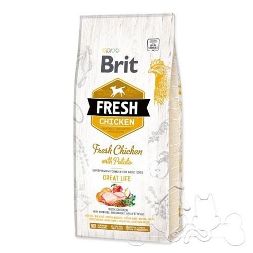 Brit Fresh Cane Adult Pollo e Patate