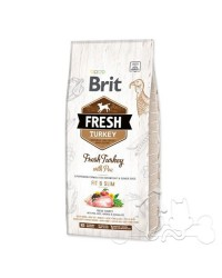 Brit Fresh Cane Fit & Slim Tacchino e Piselli