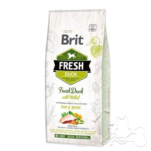 Brit Fresh Cane Run & Work Anatra e Miglio