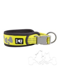 Collare Hurtta Weekend Warrior Giallo Fluo