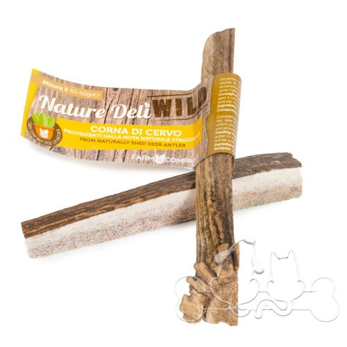 Nature Delì Corna di Cervo TAGLIATE Snack per Cani