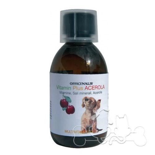 Officinalis Vitamin Plus Acerola per Cani e Gatti