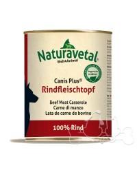 Naturavetal Umido Canis Plus Carne di Manzo 100%