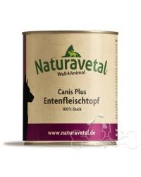 Naturavetal Umido Canis Plus Carne di Anatra 100%