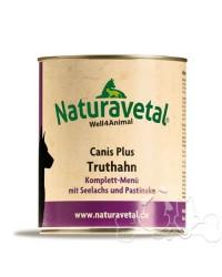 Naturavetal Umido Canis Plus Tacchino e Merluzzo Menu Completo Adulti