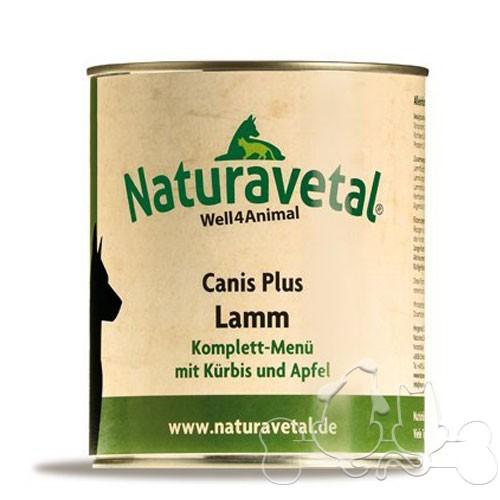 Naturavetal Umido Canis Plus Agnello e Zucca Menu Completo Adulti