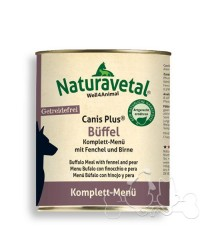 Naturavetal Umido Canis Plus Bufalo e Finocchio Menu Completo Adulti