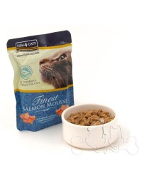 Fish4Cats  salmone mousse umido gatto 100g