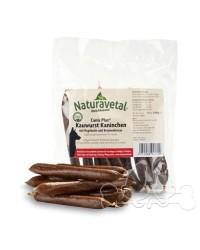 Naturavetal Canis Plus Salsicce di Coniglio Rosa Canina e Crescione Snack per Cani