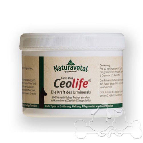 Naturavetal Canis Extra Ceolife® a base di Zeolite per Cani