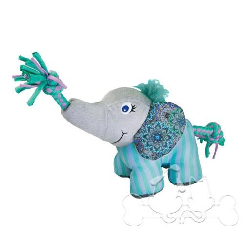 Kong Knots Carnival Elefante Gioco per Cani