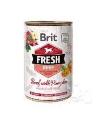 Brit Fresh Manzo e Zucca Umido Cane