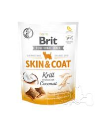 Brit Skin & Coat Snack Funzionale per Cani