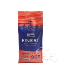 Fish4Dogs Cane Small Adult Salmone