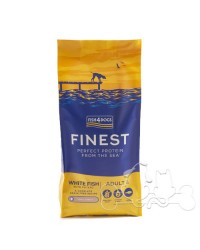 Fish4Dogs Cane Small Adult Pesce Bianco