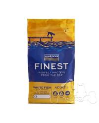Fish4Dogs Cane Regular Adult Pesce Bianco