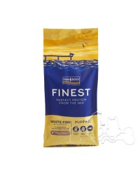 Fish4Dogs Cane Small / Regular Puppy Pesce Bianco