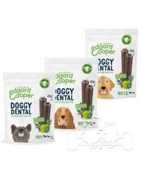 Edgard & Cooper Doggy Dental Mela e Eucalipto Snack per Cani
